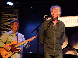 Terry Ware and Graham Nash